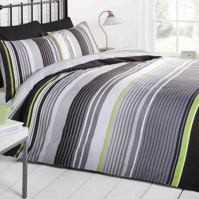 Cambridge black duvet set