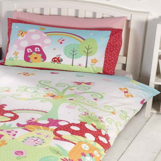 Enchanted Gardens Kids Duvet