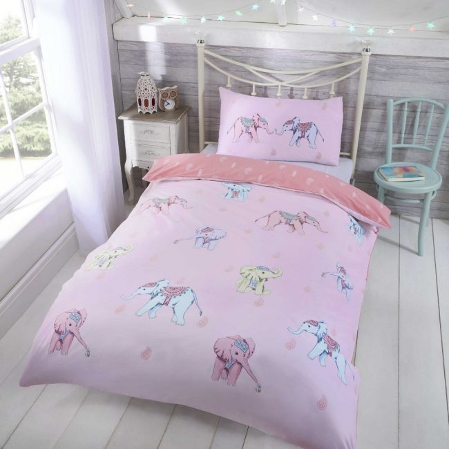 Ellie Pink Duvet Set