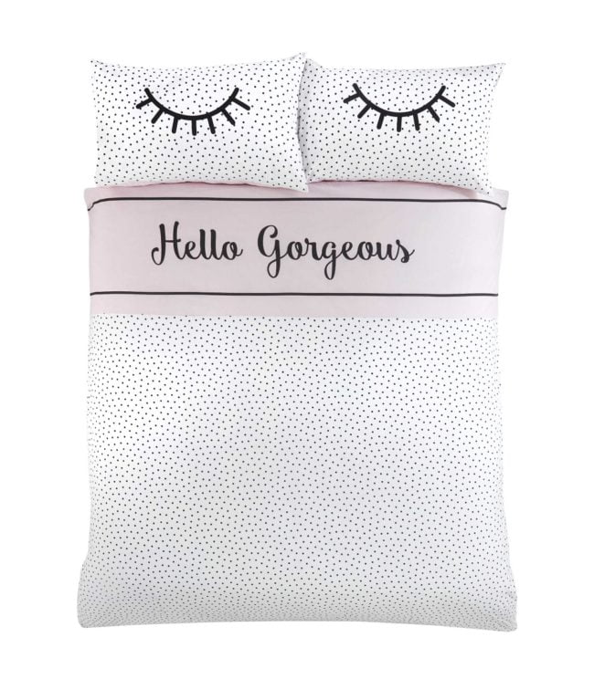Hello Gorgeous Duvet Set