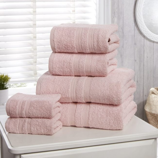 Camden 100% Cotton Towels Pink